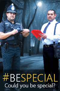 Could you be special; Special Constabulary; recruiting; police jobs