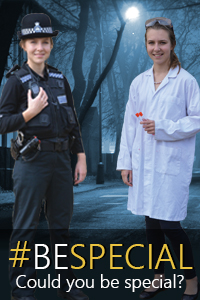 Could you be special; Special constabulary; recruiting
