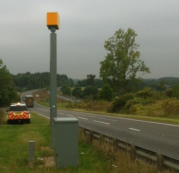 Coddenham speed camera