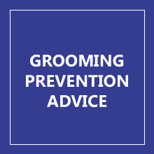 GROOMING PREVENTION ADVICE