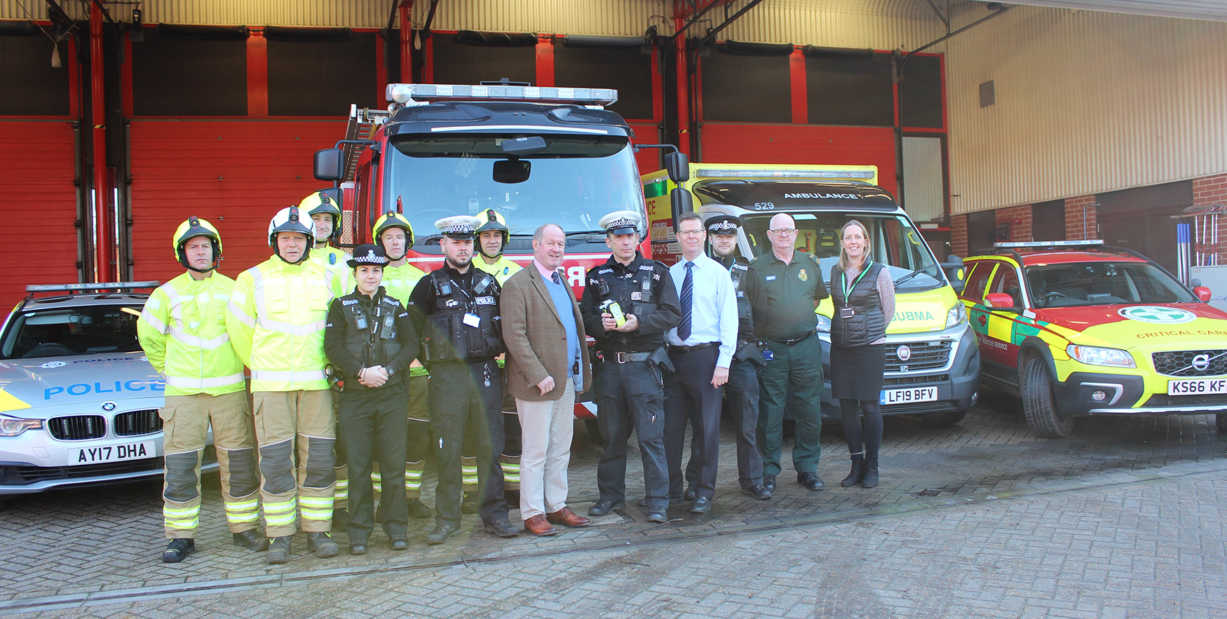 Drink-drive campaign launch