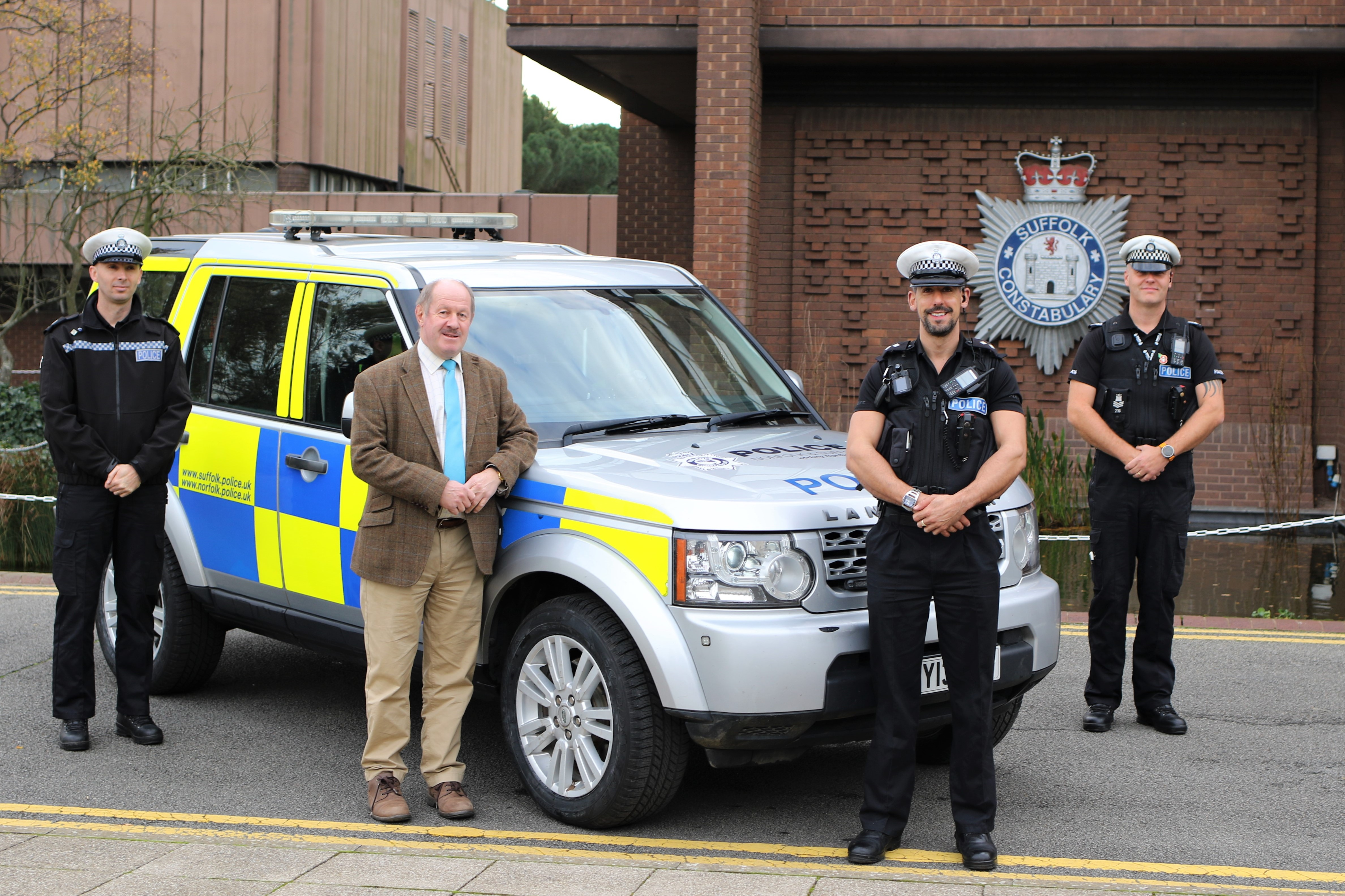 Suffolk Police Commercial Vehicle Unit