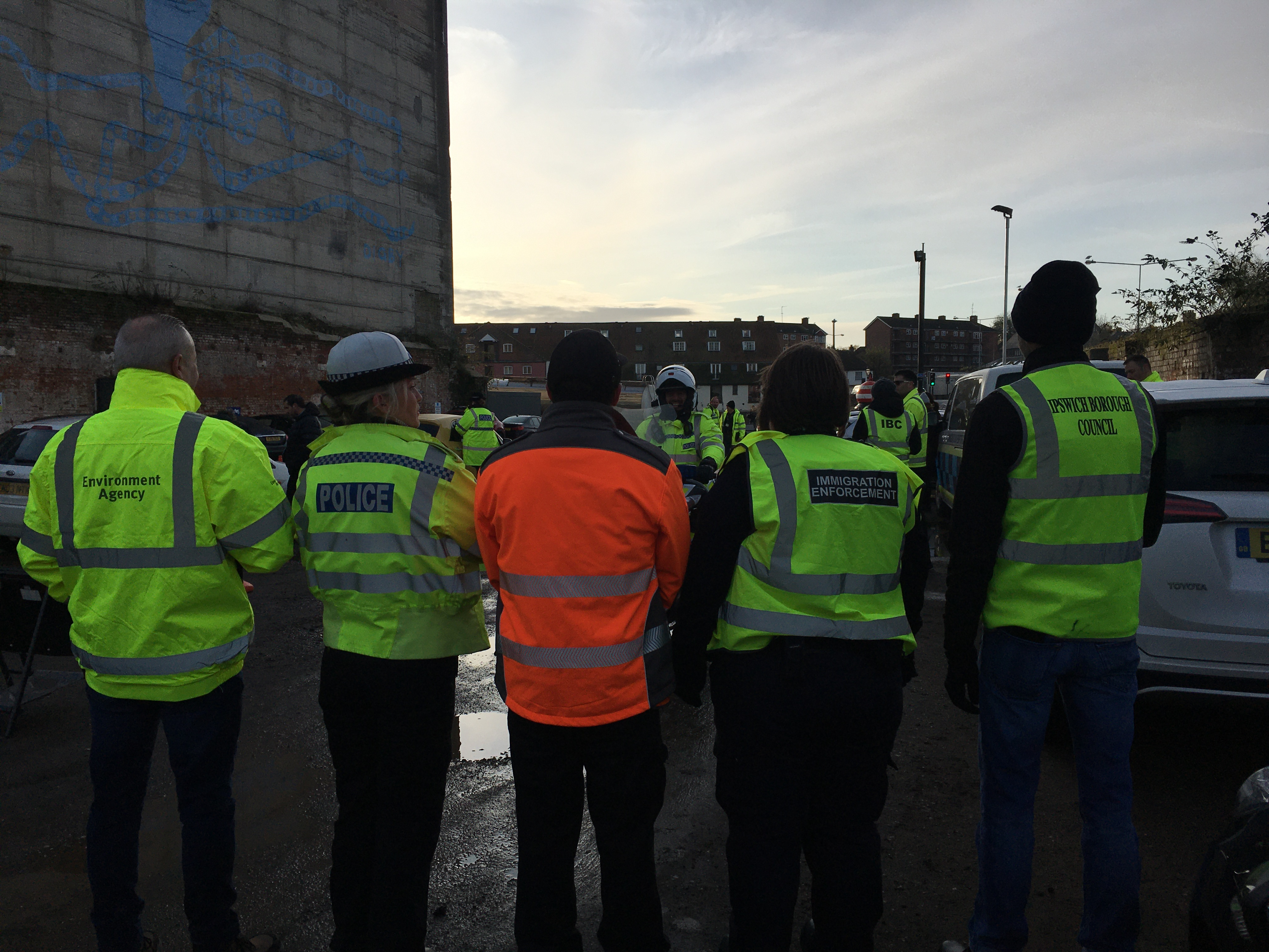 Multi-agency day of action held on Wednesday 13 November 2019 in Ipswich 1
