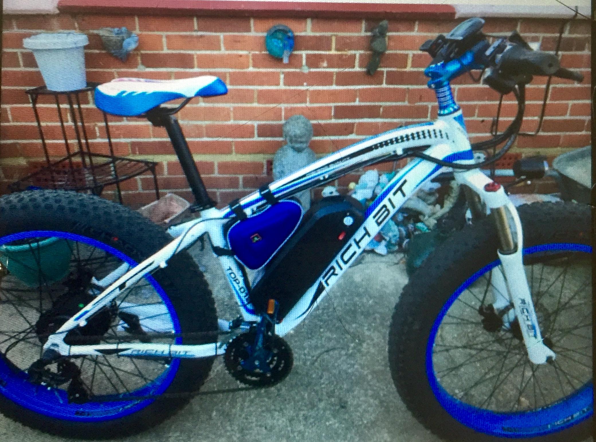 stolen rich bit bike