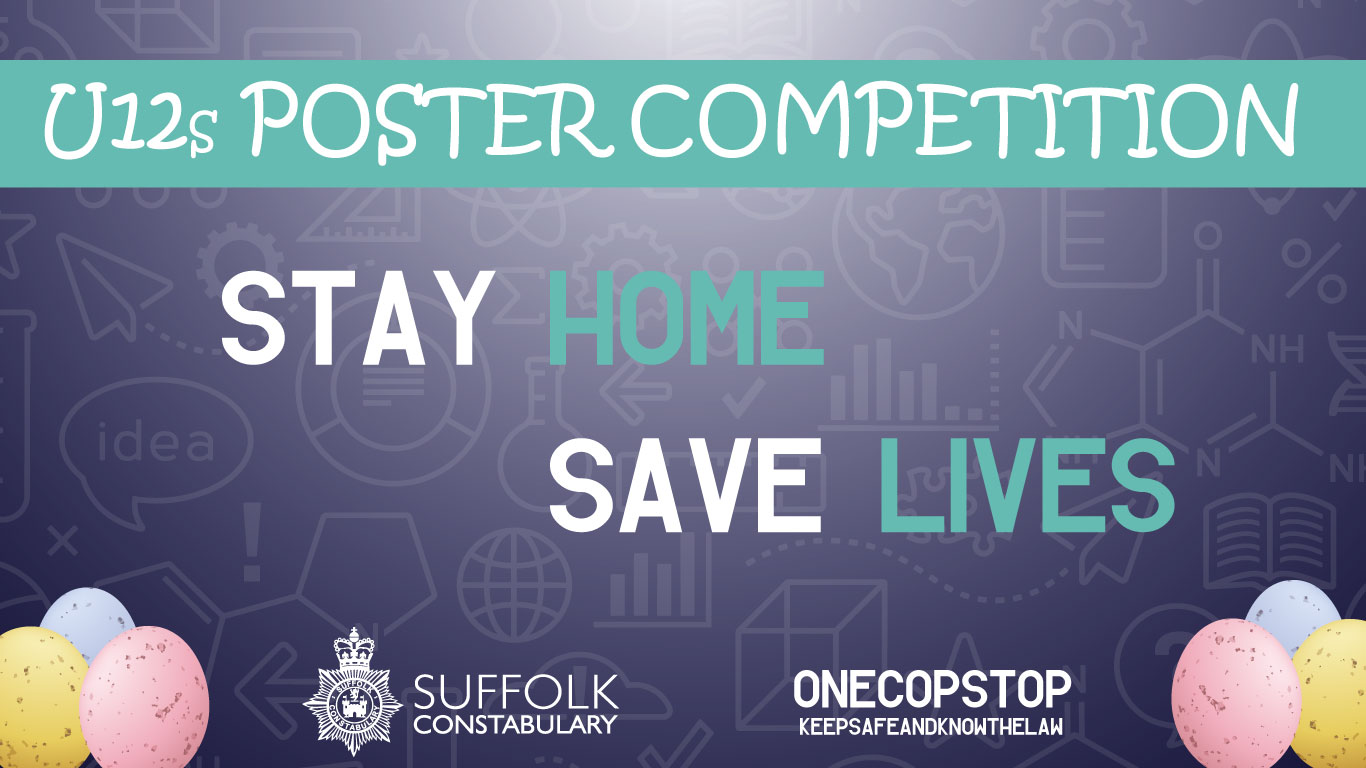 Suffolk U12s Easter Poster Competition advertisement