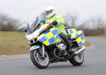 Police bike; roads policing; Suffolk Police