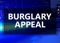 Burglary appeal image